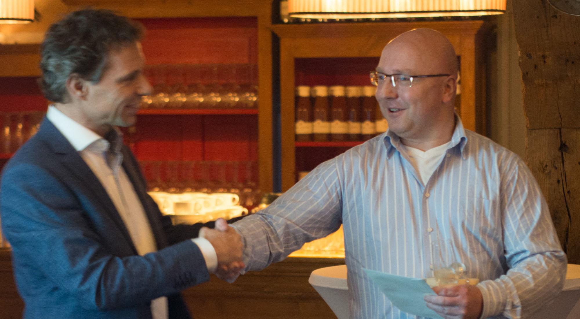 Coen Mooijman viert 5 jarig jubileum bij SynTouch