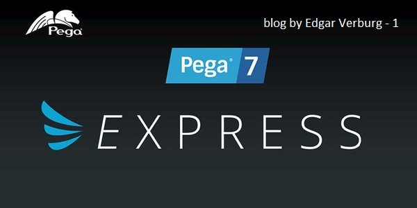 Creating a new Pega Application with App Express