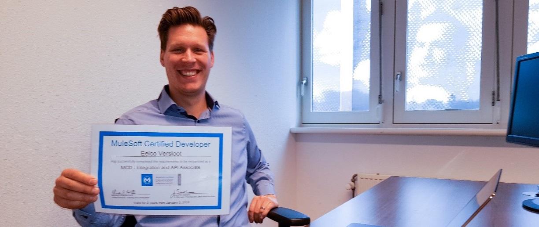 Aantal SynTouch integratiespecialisten met MuleSoft certificering blijft groeien