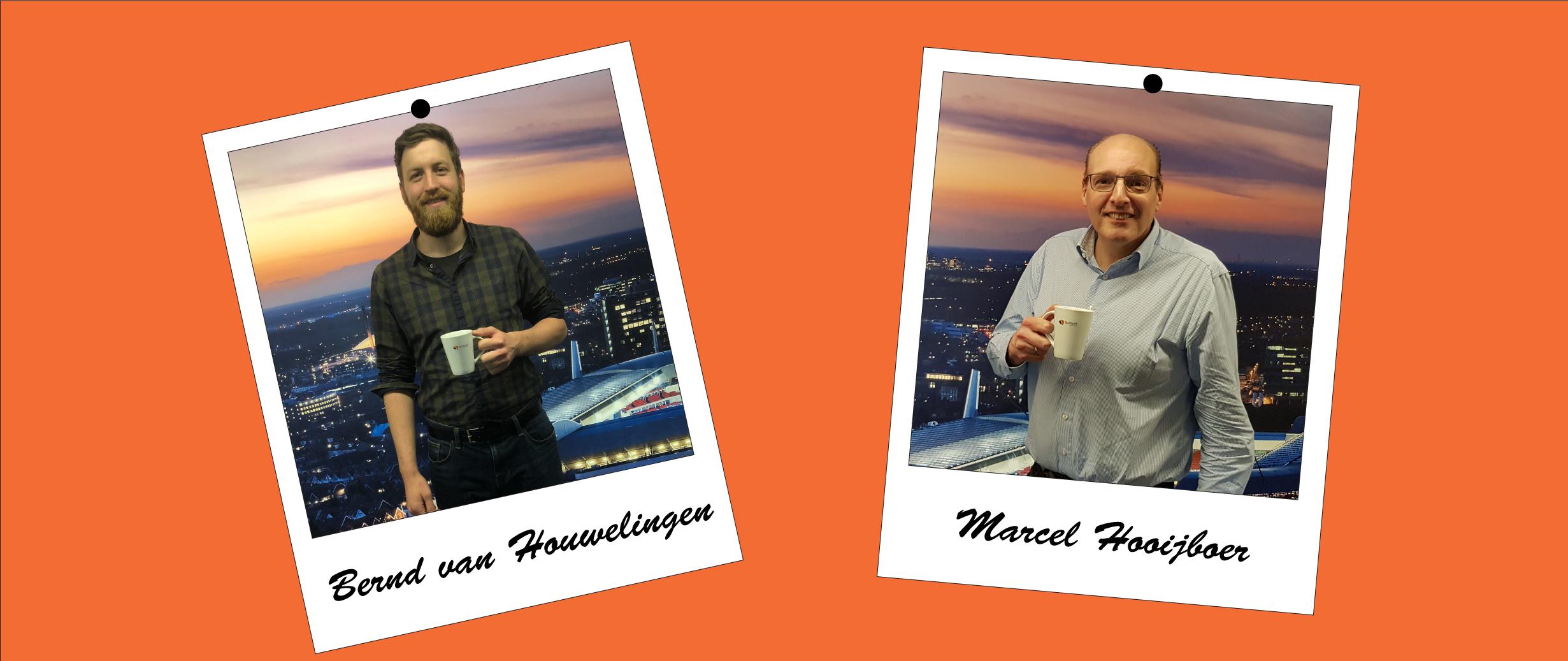 Welkom Marcel en Bernd