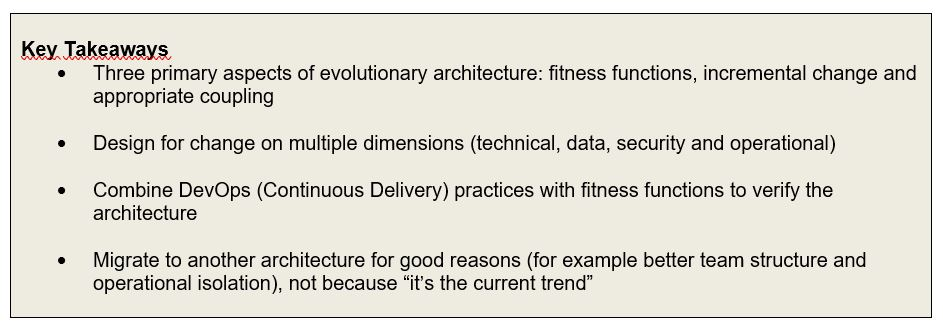 Book Review Building Evolutionary Architectures - Syntouch