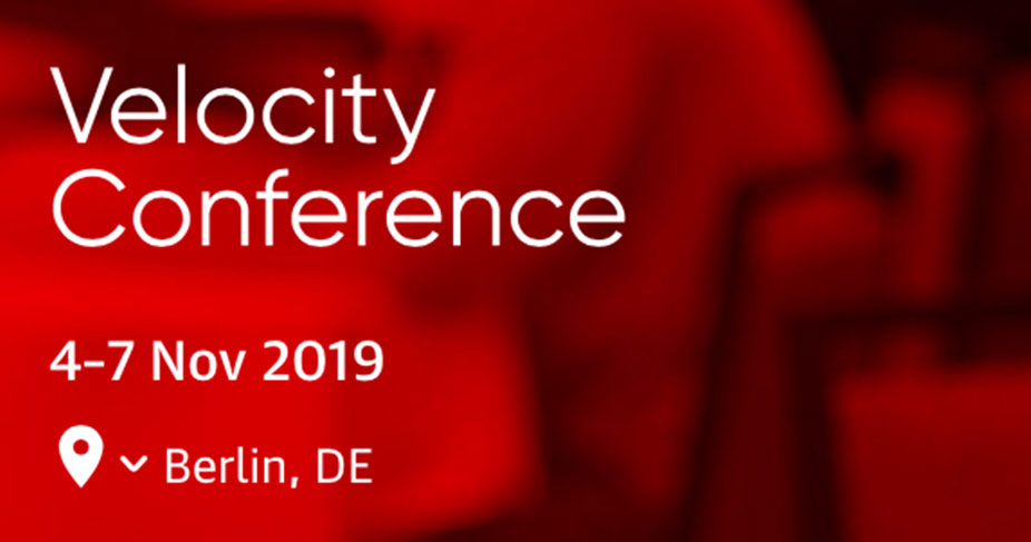 Bas @O'Reilly's Velocity Conference 2019 – Day 2