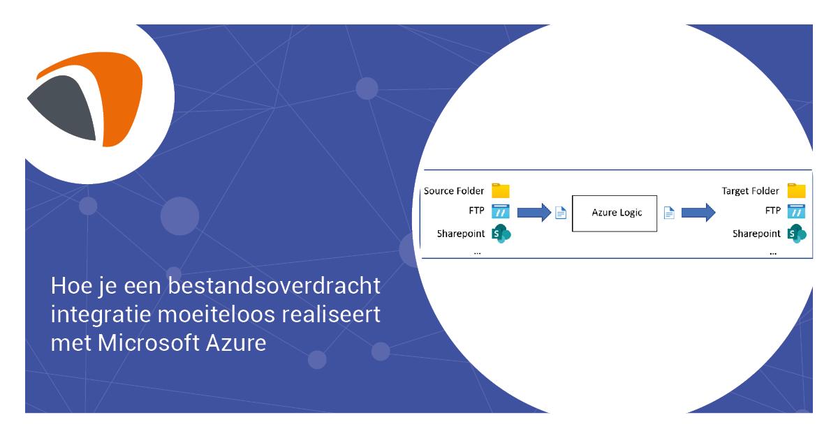 Hoe je een bestandsoverdracht integratie moeiteloos realiseert met Microsoft Azure